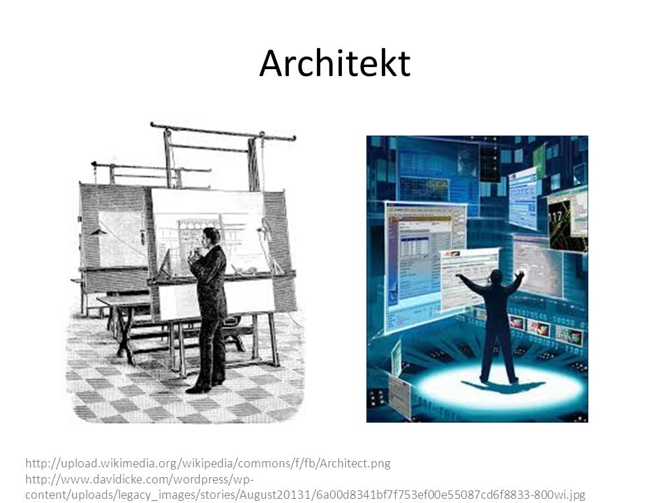 Architekt http://upload.wikimedia.org/wikipedia/commons/f/fb/Architect.png.