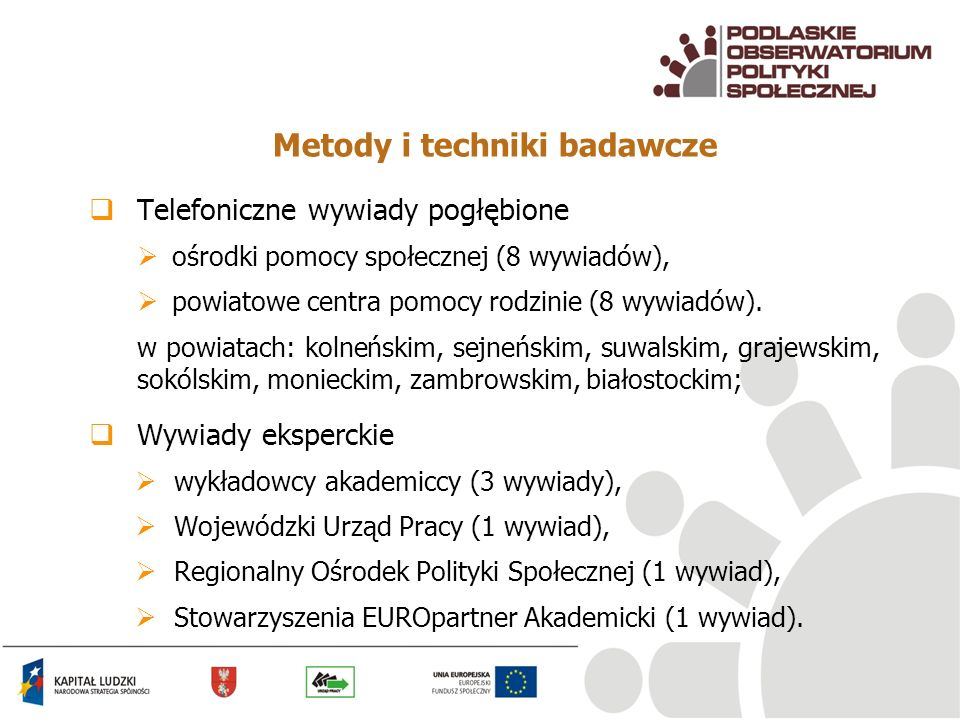 Metody i techniki badawcze