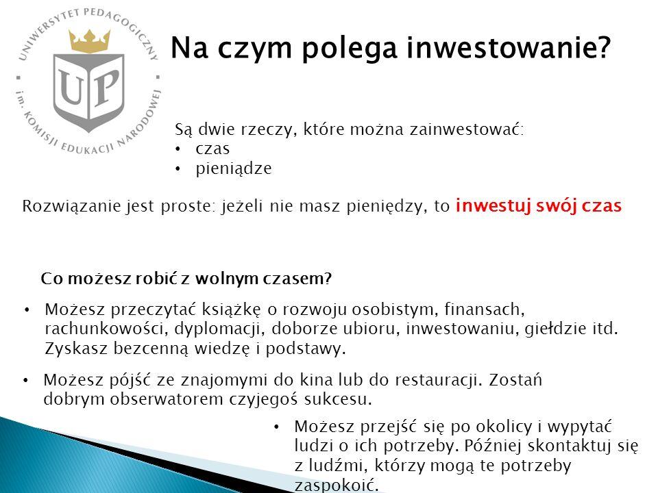 Na czym polega inwestowanie
