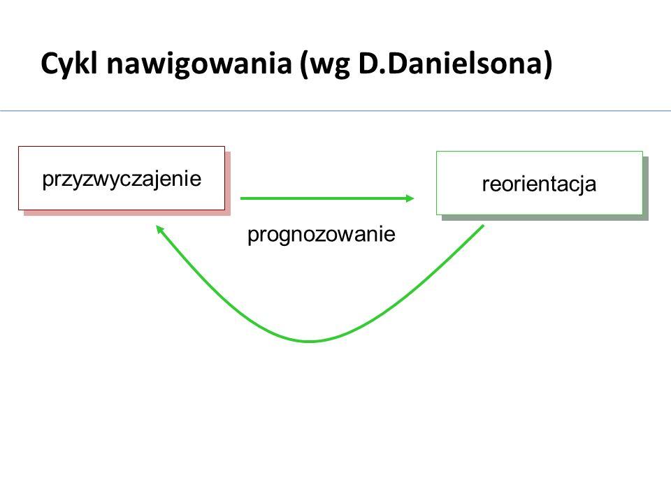 Cykl nawigowania (wg D.Danielsona)