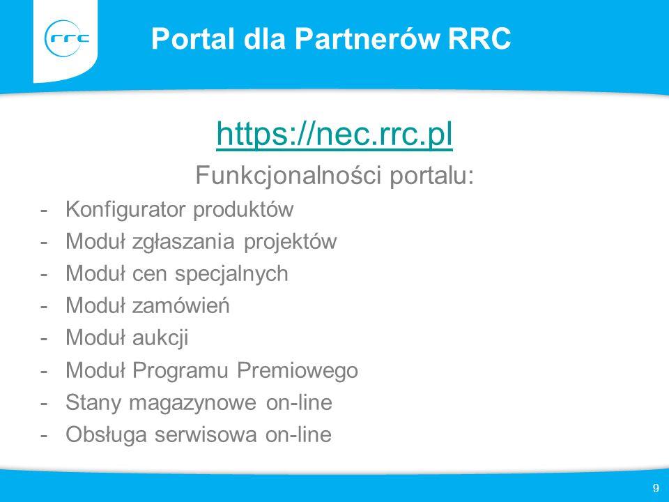 Portal dla Partnerów RRC