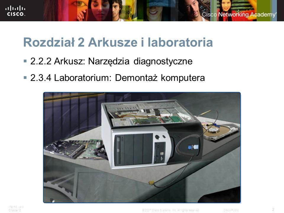 Rozdział 2 Arkusze i laboratoria