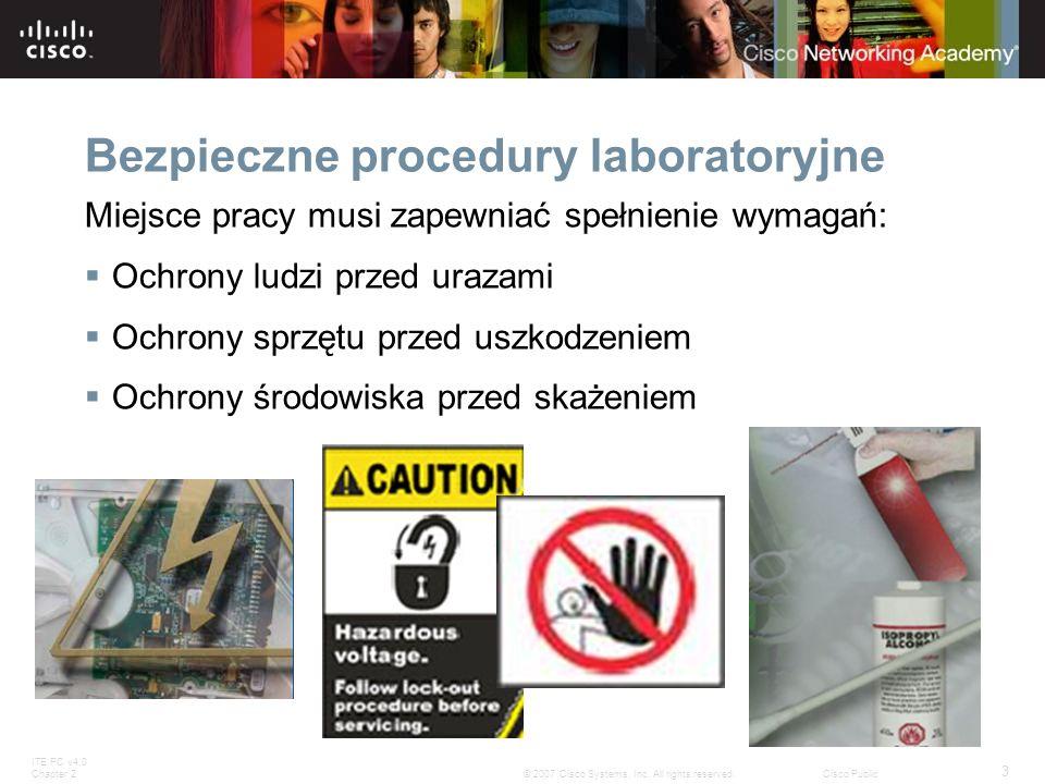Bezpieczne procedury laboratoryjne