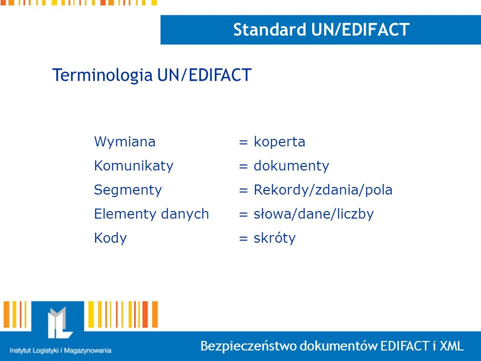 Terminologia UN/EDIFACT