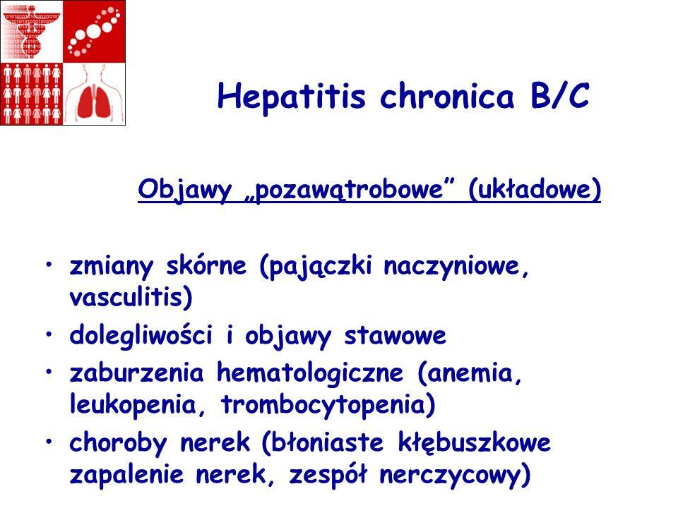 Hepatitis chronica B/C
