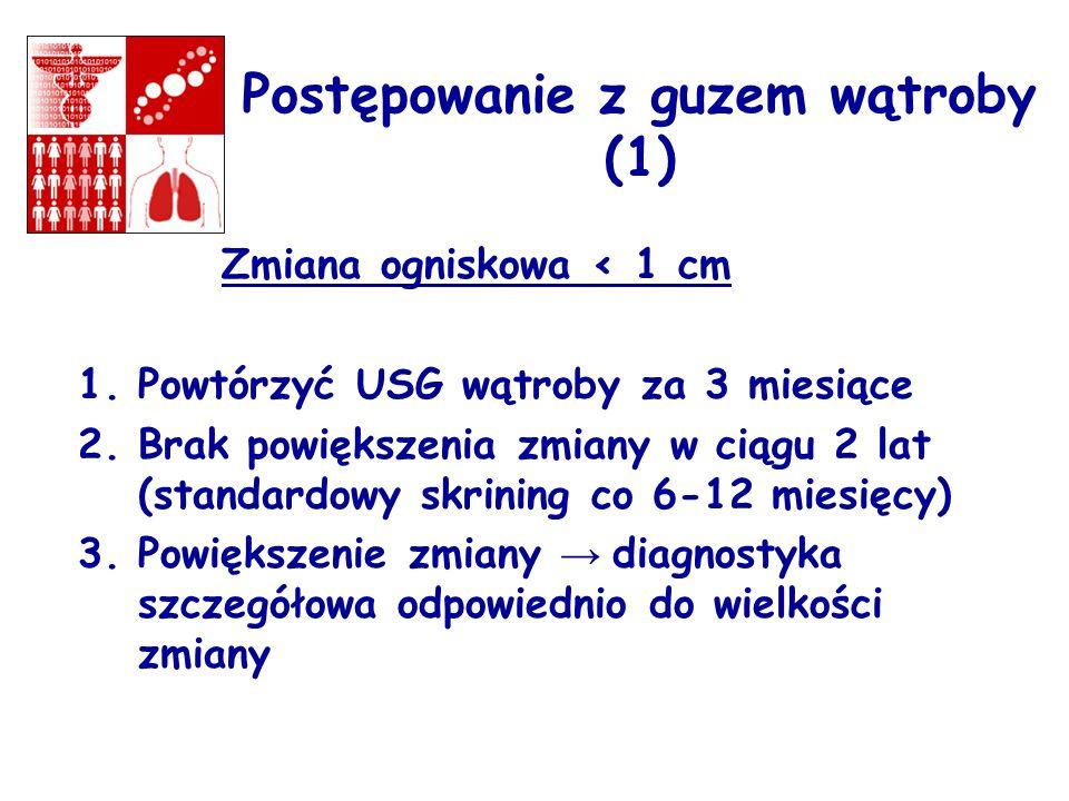 Postępowanie z guzem wątroby (1)