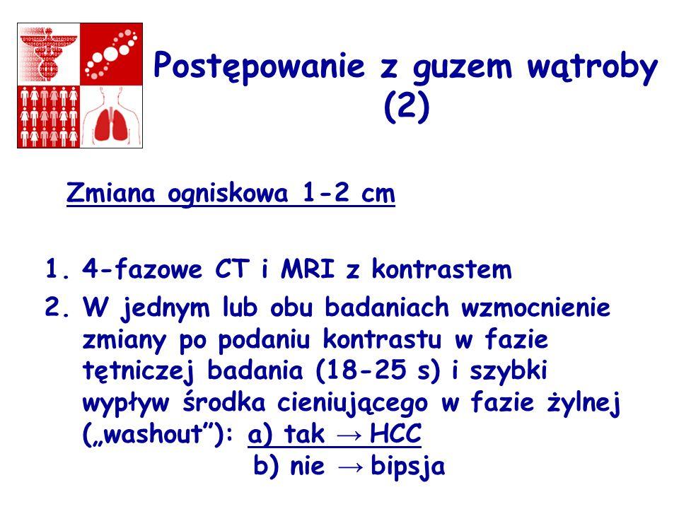 Postępowanie z guzem wątroby (2)