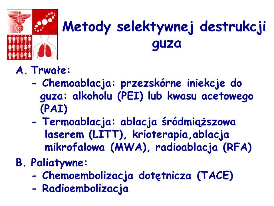 Metody selektywnej destrukcji guza