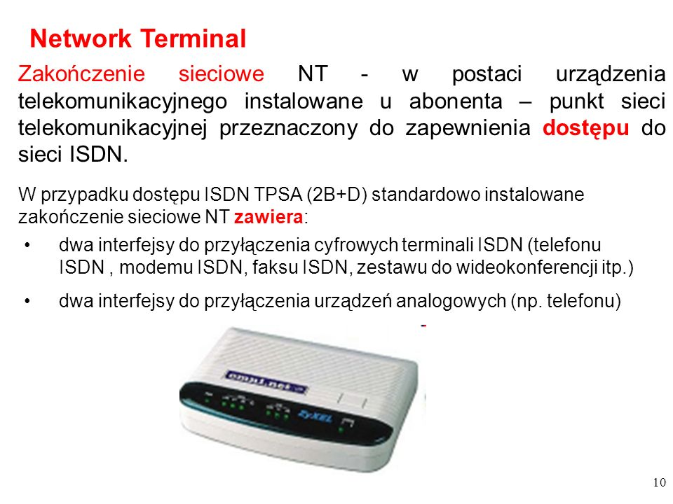 Network Terminal
