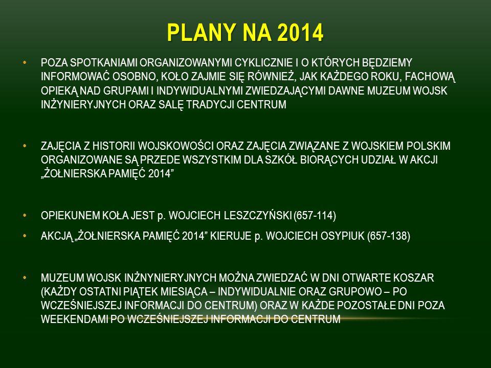 PLANY NA 2014