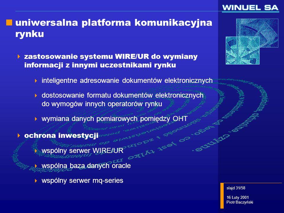 uniwersalna platforma komunikacyjna rynku