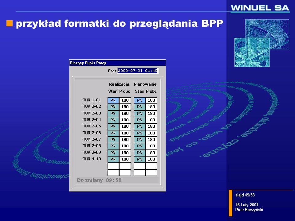 przykład formatki do przeglądania BPP