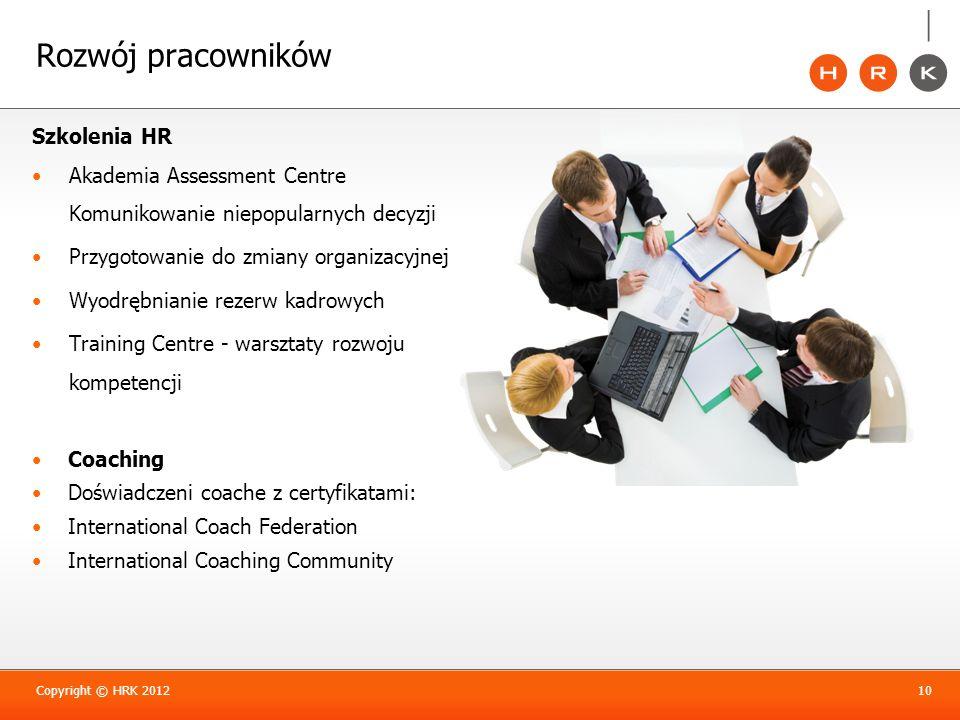 Rozwój pracowników Szkolenia HR