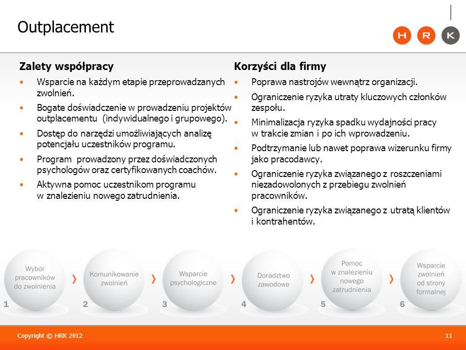 Outplacement Zalety współpracy Korzyści dla firmy