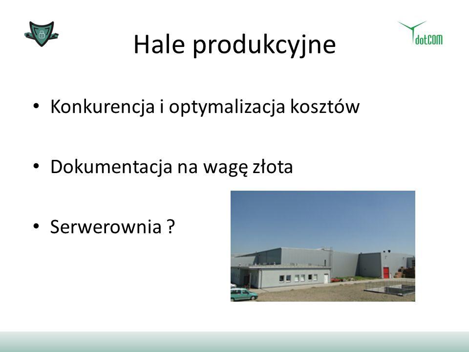 Hale produkcyjne Konkurencja i optymalizacja kosztów
