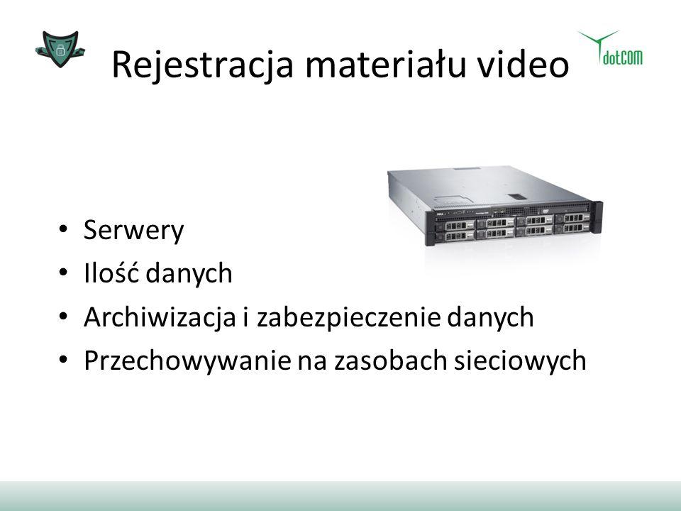 Rejestracja materiału video