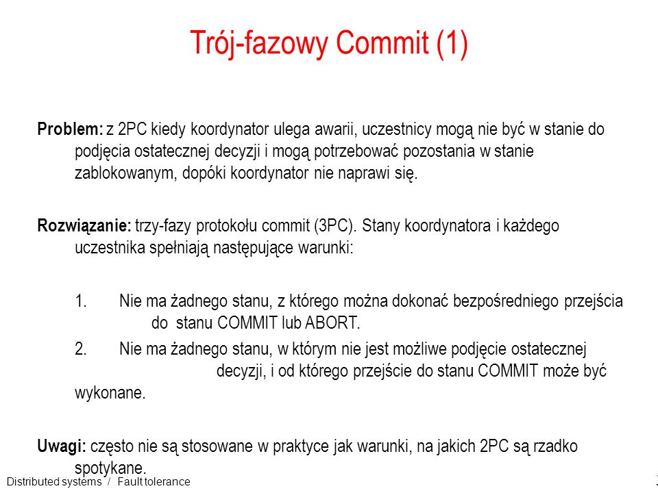 Trój-fazowy Commit (1)
