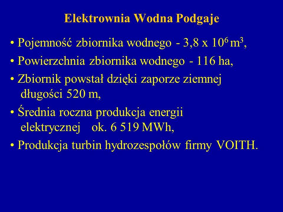 Elektrownia Wodna Podgaje