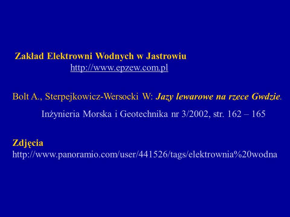 Zakład Elektrowni Wodnych w Jastrowiu