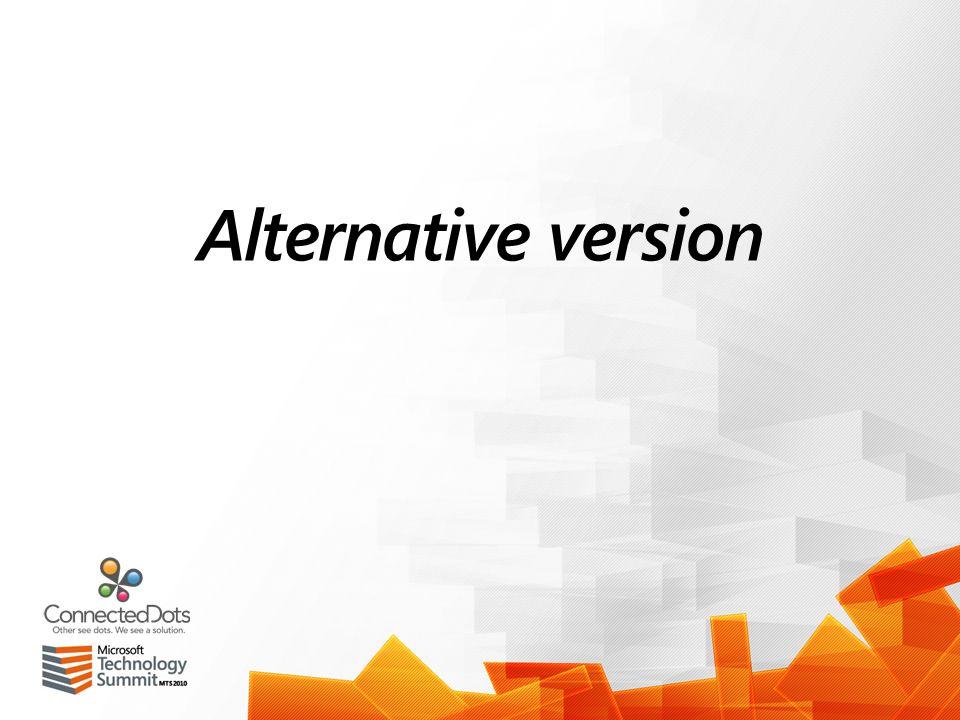 Alternative version