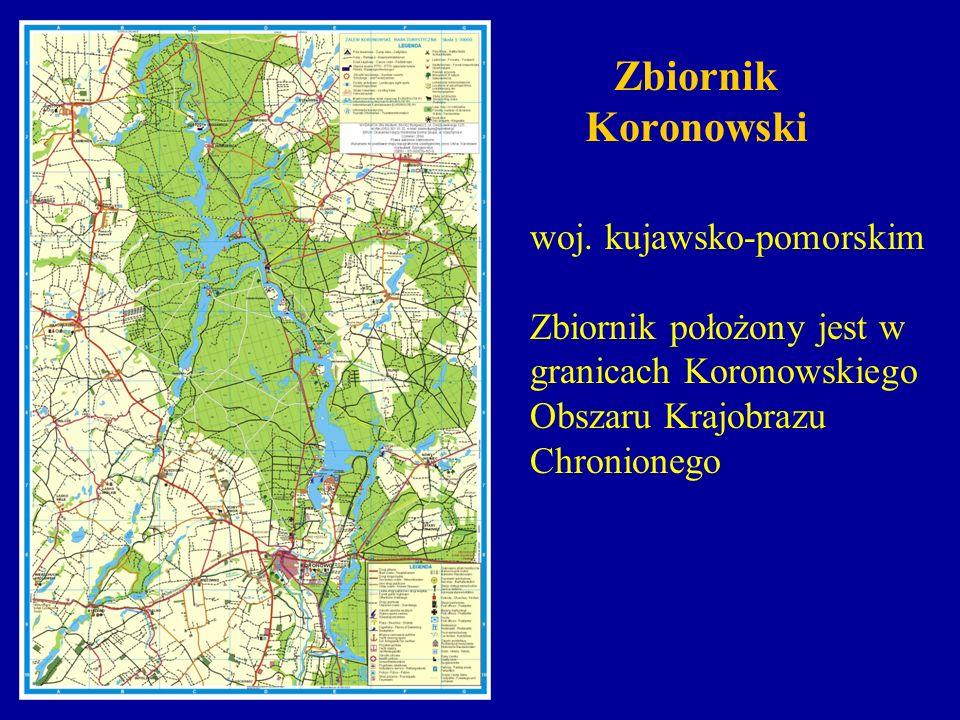 Zbiornik Koronowski woj. kujawsko-pomorskim