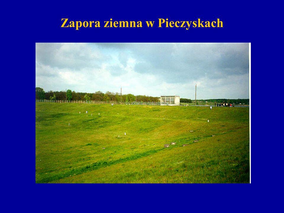 Zapora ziemna w Pieczyskach