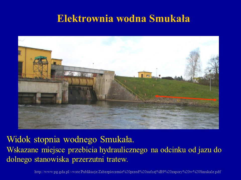 Elektrownia wodna Smukała