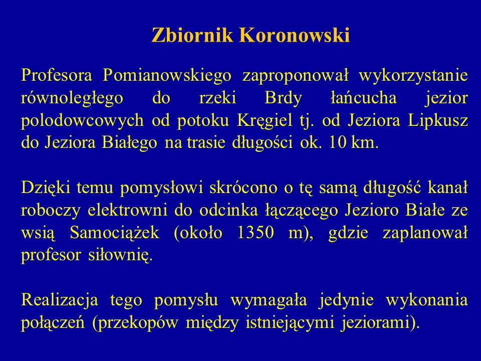 Zbiornik Koronowski