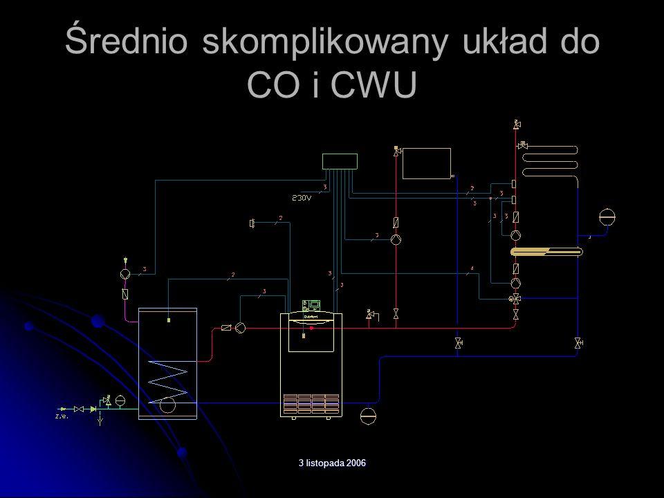 Średnio skomplikowany układ do CO i CWU