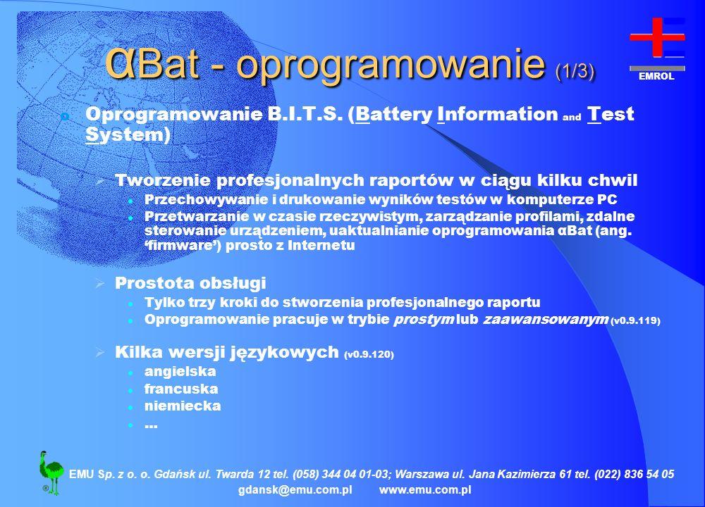 αBat - oprogramowanie (1/3)