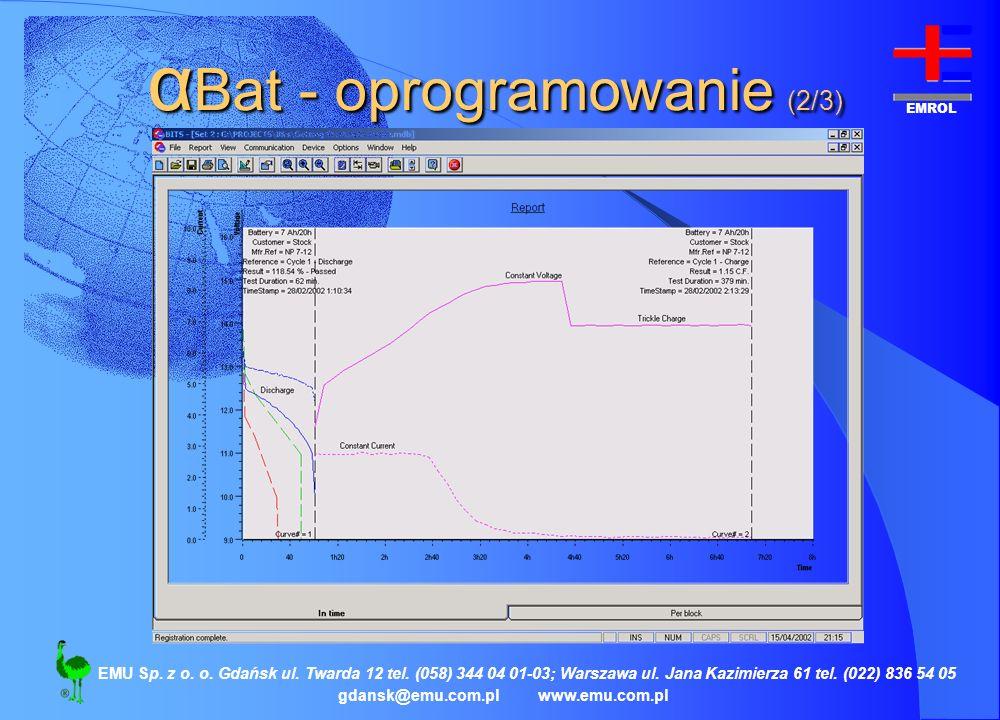 αBat - oprogramowanie (2/3)