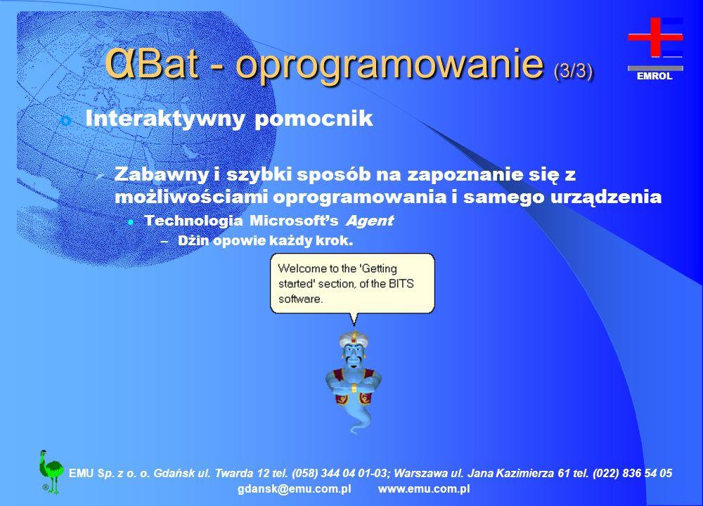 αBat - oprogramowanie (3/3)