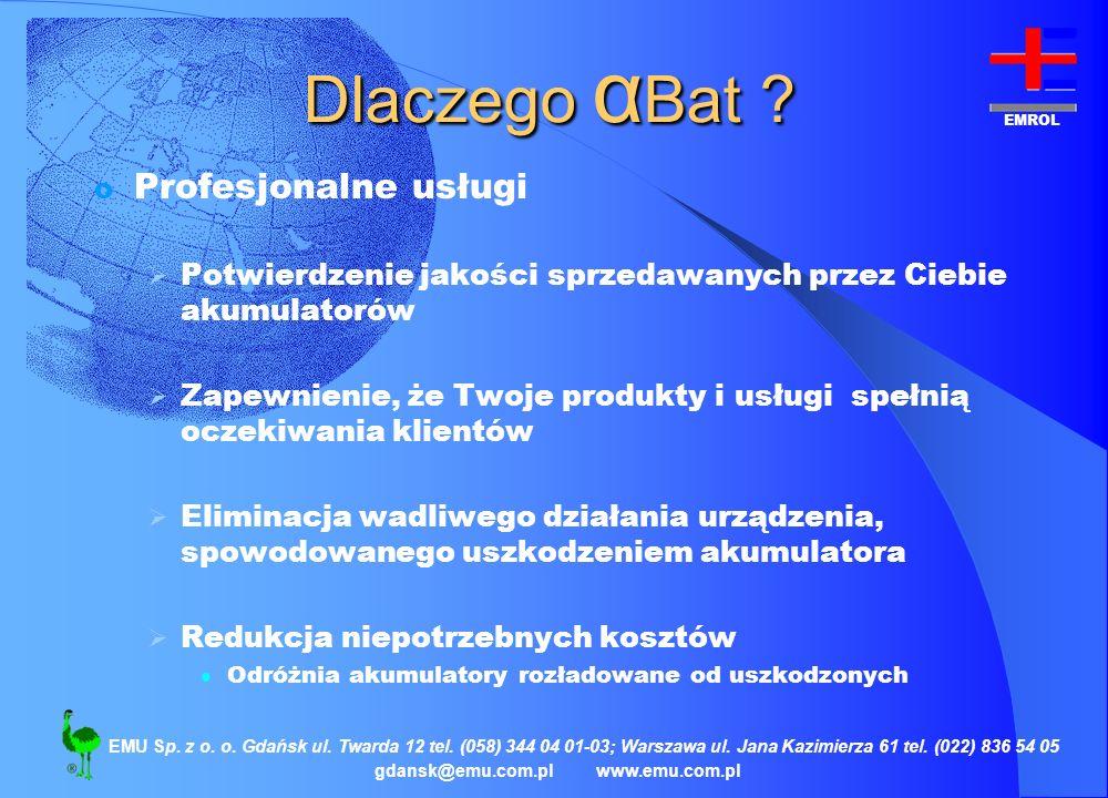 Dlaczego αBat Profesjonalne usługi