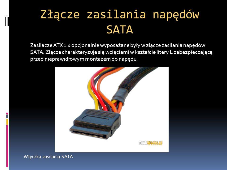 Złącze zasilania napędów SATA