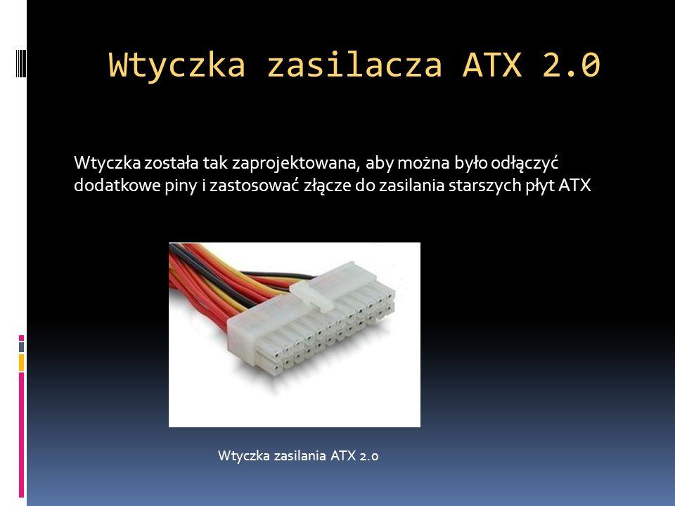 Wtyczka zasilacza ATX 2.0