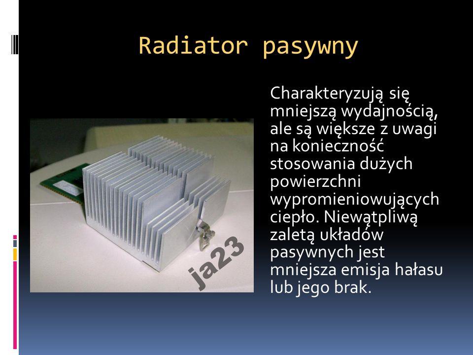 Radiator pasywny