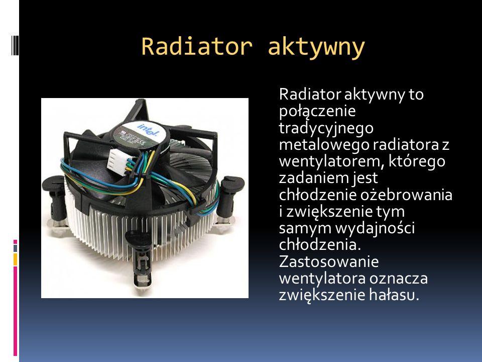 Radiator aktywny