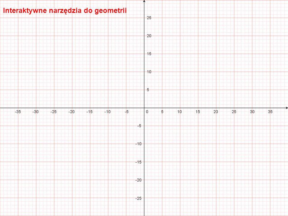 Tablice interaktywne Interaktywne narzędzia do geometrii