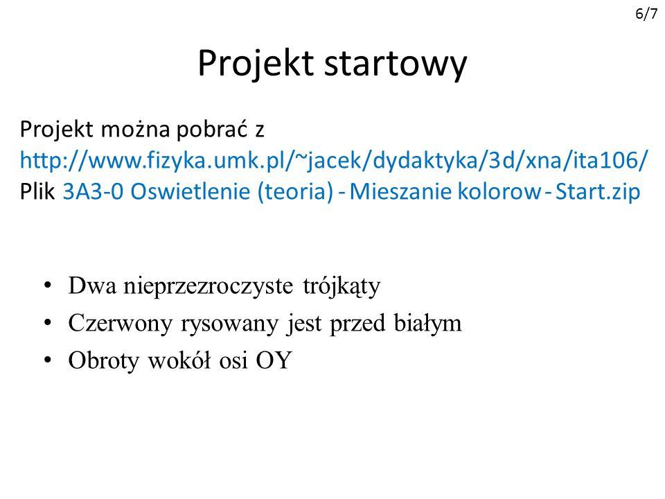 6/7 Projekt startowy.