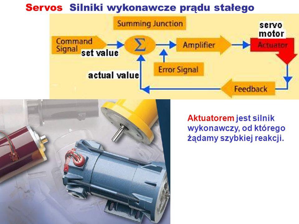 Servos Silniki wykonawcze prądu stałego