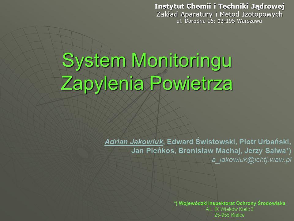 System Monitoringu Zapylenia Powietrza