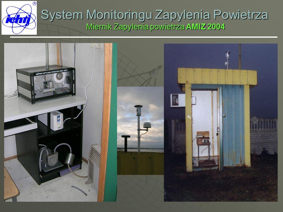 System Monitoringu Zapylenia Powietrza Miernik Zapylenia powietrza AMIZ 2004