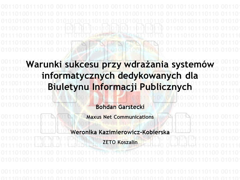 Maxus Net Communications Weronika Kazimierowicz-Kobierska