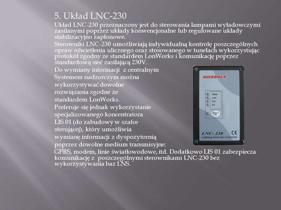 5. Układ LNC-230