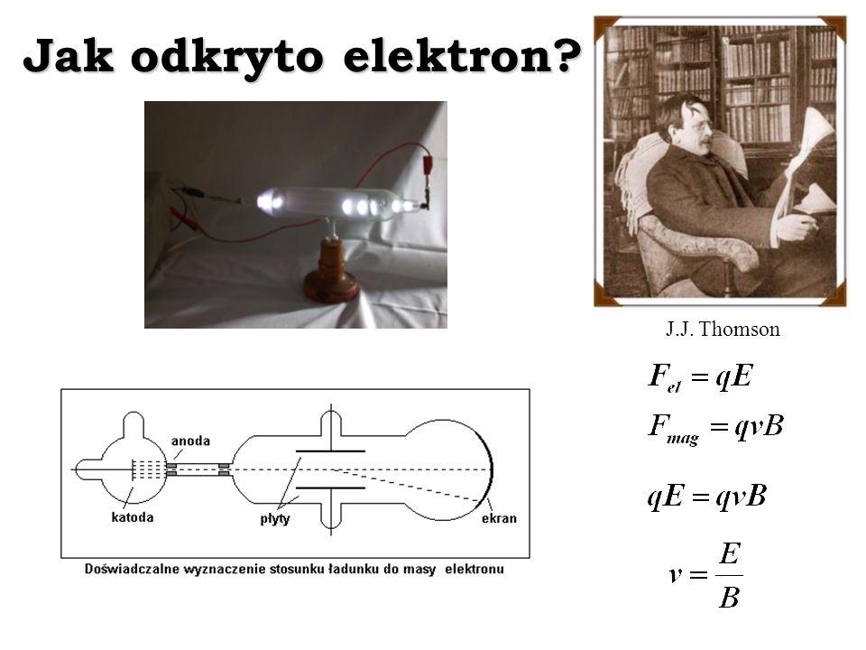 Jak odkryto elektron J.J. Thomson