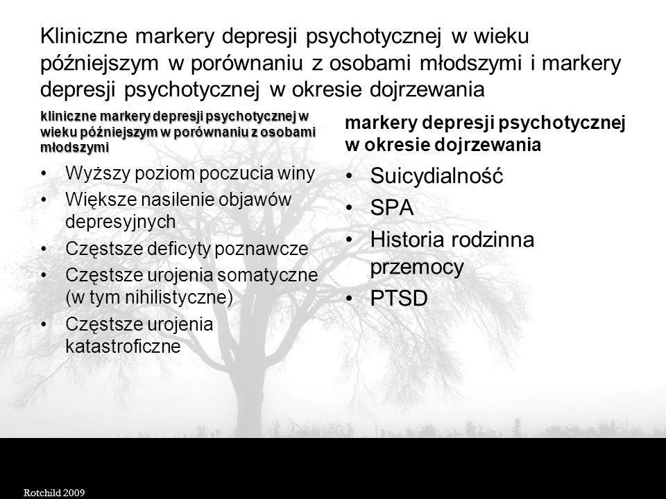 Historia rodzinna przemocy PTSD