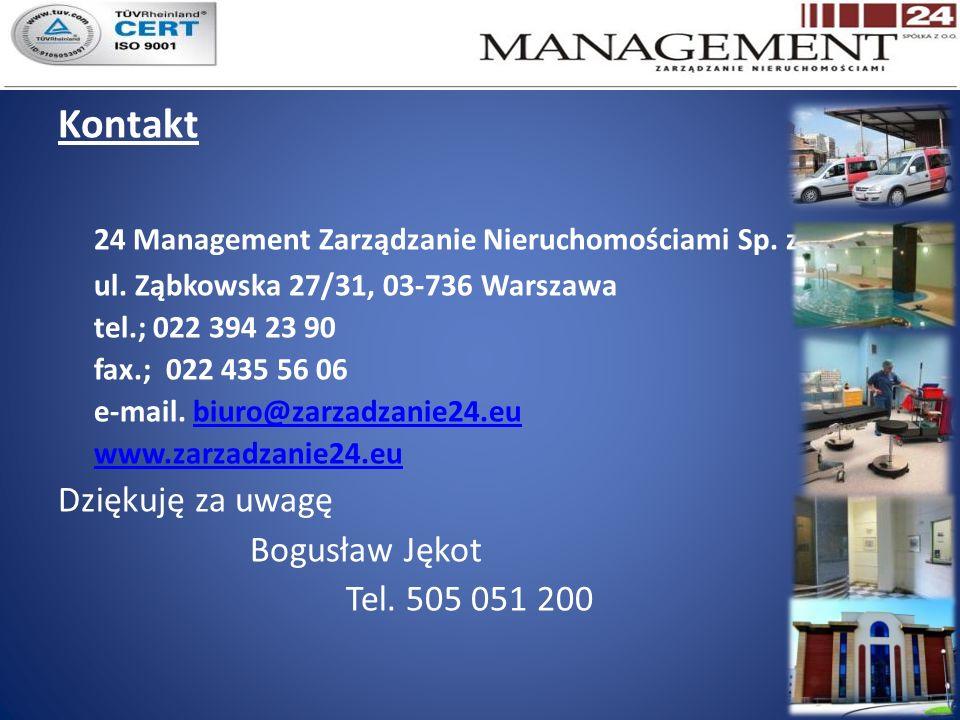 24 Management Zarządzanie Nieruchomościami Sp. z o.o.