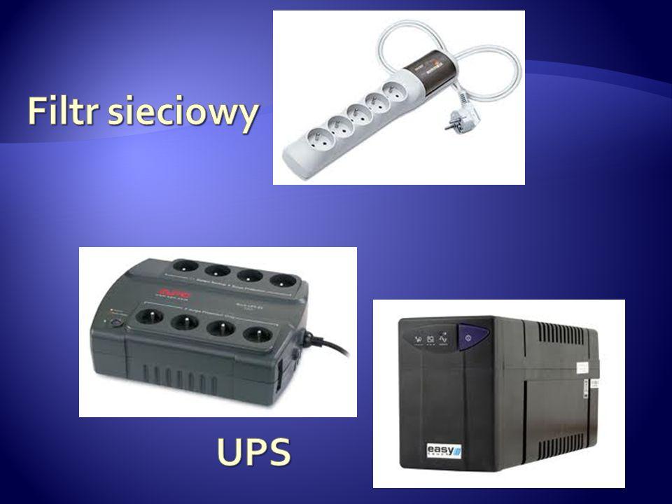 Filtr sieciowy UPS