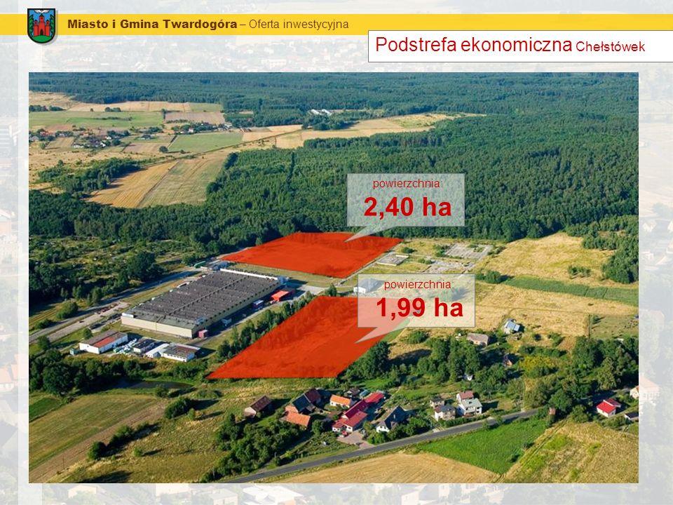 1,99 ha Podstrefa ekonomiczna Chełstówek
