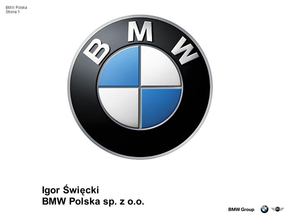 Igor Święcki BMW Polska sp. z o.o.